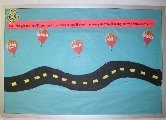 class bulletin board 