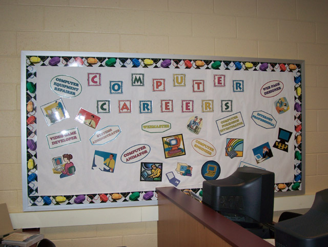 Computer Classroom Design Examples ~ Business education bulletin board ideas